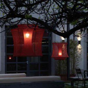 Romantische Hängeleuchten für Bar & Terrasse