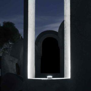 Fensterbank Leuchte außen