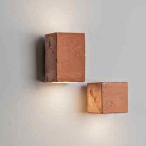 Außenlampen aus Terracotta/Ton