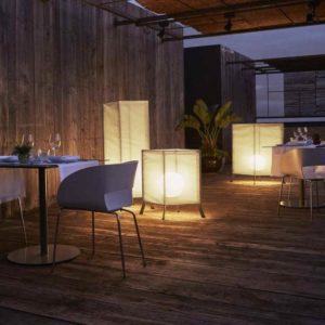 Gemütliche Leuchten für die Terrasse