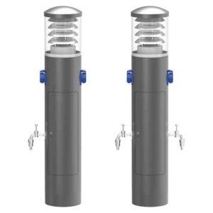 Strom Wasser und Lichtsäule in einem