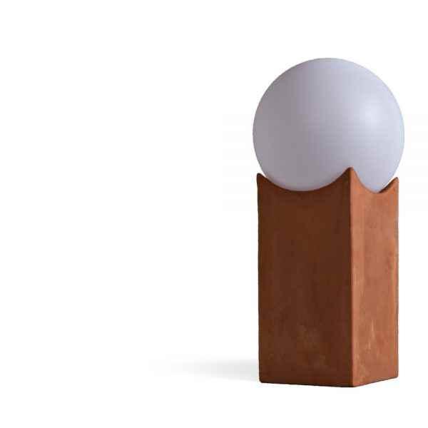 Terracotta Kugelleuchten für außen V1