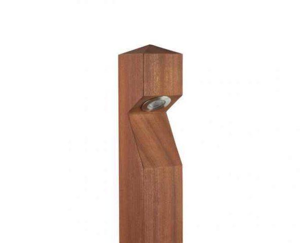 Holz Gartenleuchte