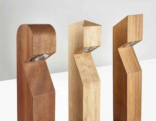 Verschiedene Holzvarianten