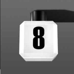 Hausnummer Deckenleuchte