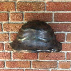 Außen Wandlampe als Wandschale