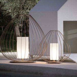 Filigrane Design Gartenleuchten