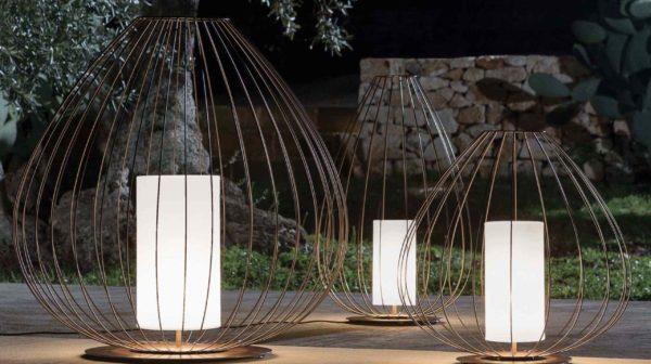 Filigrane Design Gartenleuchten für außen
