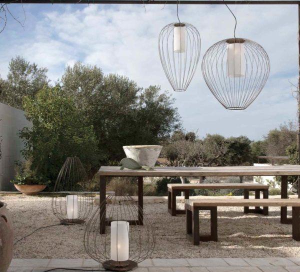 Filigrane Design Gartenleuchten für traumhafte Stimmungen im Außenbereich