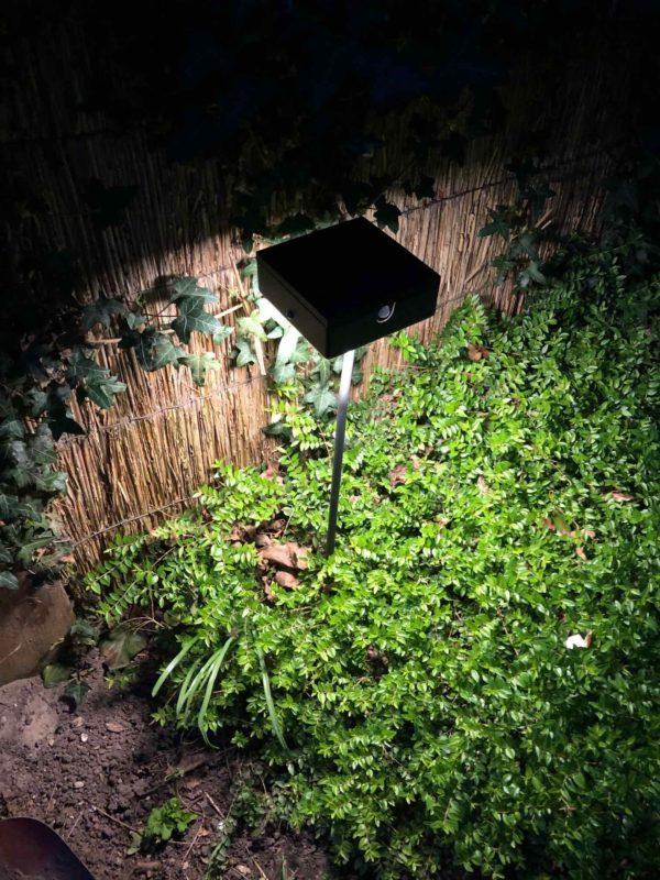 Schöne Gartenbeleuchtung mit Solar