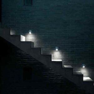 Designer Wand Stufenleuchten für außen
