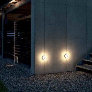 LED Wandleuchte rund 230V für moderne Gebäude