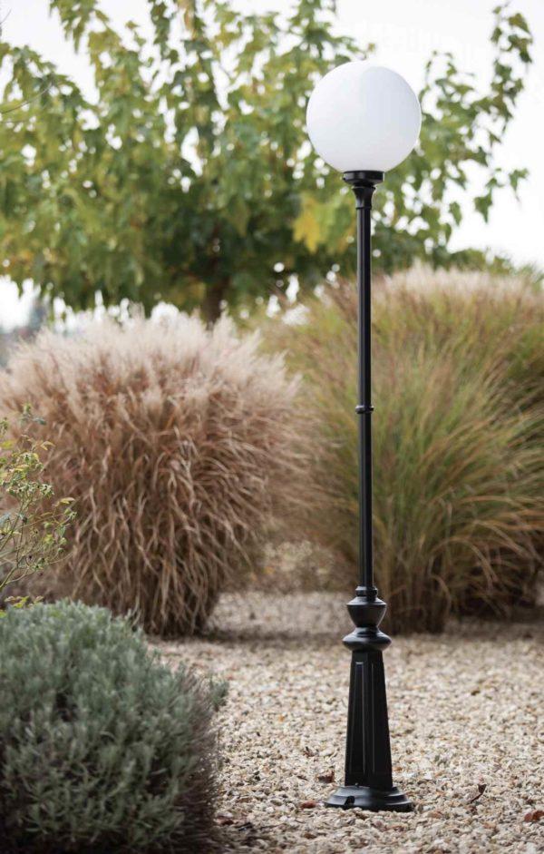 Kugel Stehlampe Gartenleuchte in verschiedenen Größen möglich