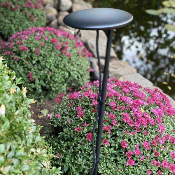 Filigrane Gartenleuchten für schöne Lichtstimmungen