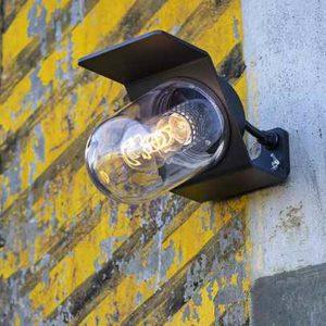 Industriestil AußenwandlampeIndustriestil Außenwandlampe