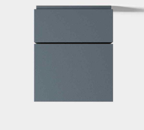 Moderne verstellbare Deckenleuchte für außen in anthrazit