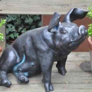 Schwein Skulptur