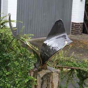 Bronze Schmetterling Skulptur