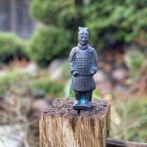 Gartenfigur Krieger