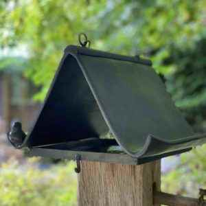 Kleines hochwertiges Garten Vogelfutterhaus