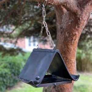 Kleines hochwertiges Garten Vogelfutterhaus zum hängen