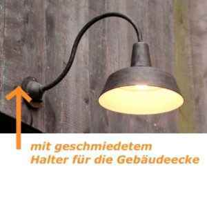 Ecklampe Hofleuchte