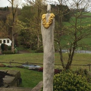 Besondere Mensch Garten Skulptur aus Beton