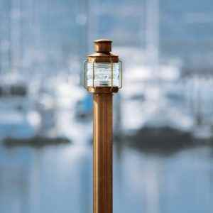 Maritime Kupfer Pollerleuchte