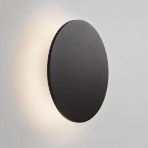 Mini Wandleuchte für außen in schwarz