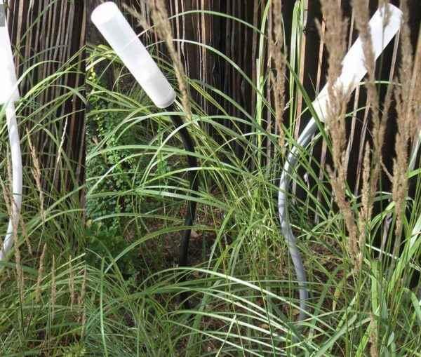 Originelle schlanke Gartenleuchten für 230V für 230V ideal für Gräser Beleuchtung