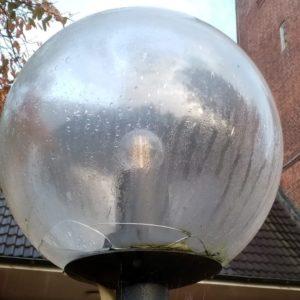Beispiel defektes Kugelglas