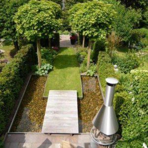 Garten Wasserbecken aus Edelstahl angefertigt auf Maaß