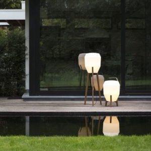 Terrassenleuchten mit Stecker für moderne Häuser