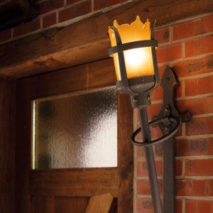 Wandfackel Außenlampe