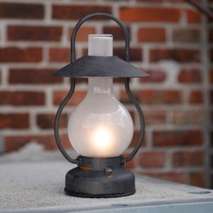 230Volt Außenlampe wie Petroleumleuchte