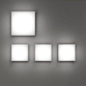 Quadratische Glas Wandleuchten für den Außenbereich