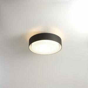 Runde schlichte Außen Deckenlampe Durchmesser 33cm