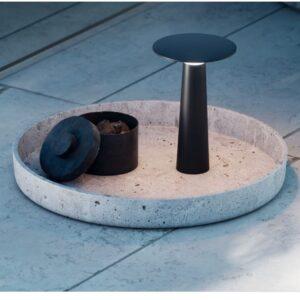 Design Akkuleuchten für den Gartentisch