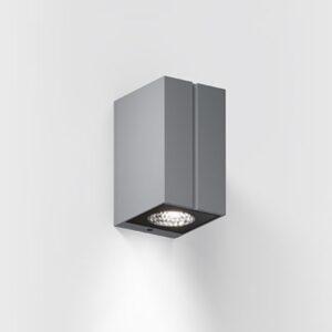 IP65 Außenwandlampe 2700K grau