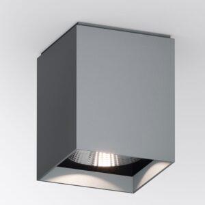 Quadratischer grauer IP65 Deckenstrahler für außen