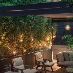 Exklusive Leuchten für Terrassen