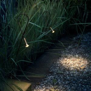 Exklusive dezente Lichtspots für außen