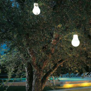 Außen Baum Hängeleuchte in Glühlampeform