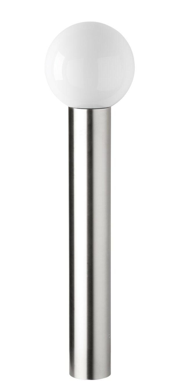 Edelstahl Kugel Pollerleuchte Höhe 90cm