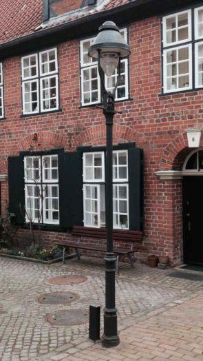 Alte Lübecker Stadtlaterne