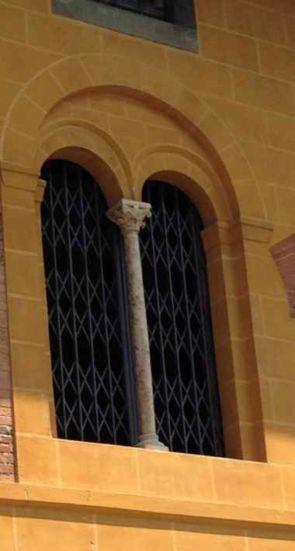 Antikes Fenstergitter