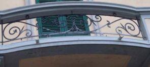 Balkonelemente geschmiedet