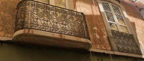 Balkongeländer historisch