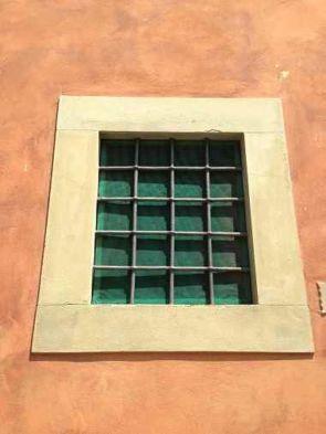 Einfaches Stahl Fenstergitter