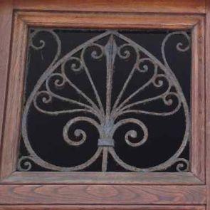 Altes Schmiedeeisernes Fenstergitter